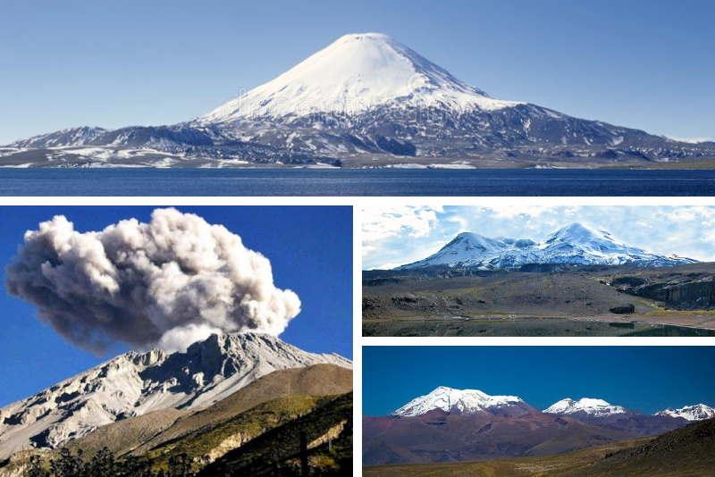imagen volcanes del peru